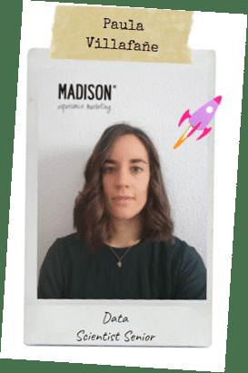 Data scientist madison paula mujer y niña ciencia