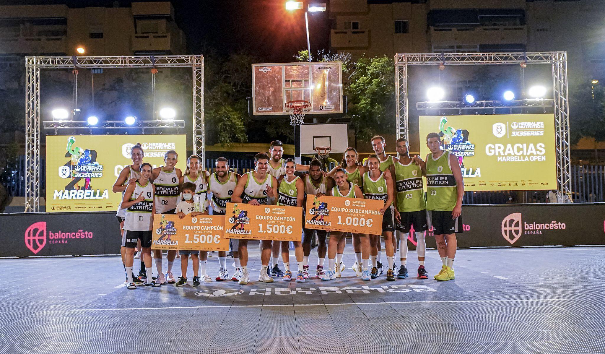 Final Torneo Marbella Open Herbalife 3x3 Series madison